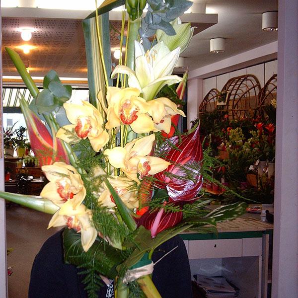 Bouquet exotique hauteur for Bouquet exotique