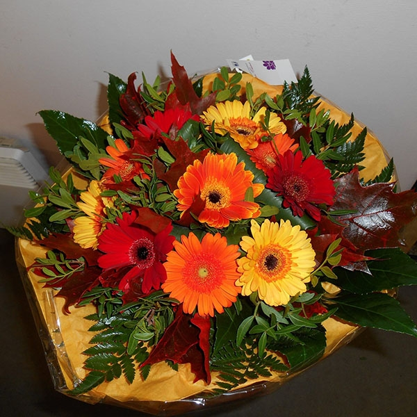 Bouquet rond germini