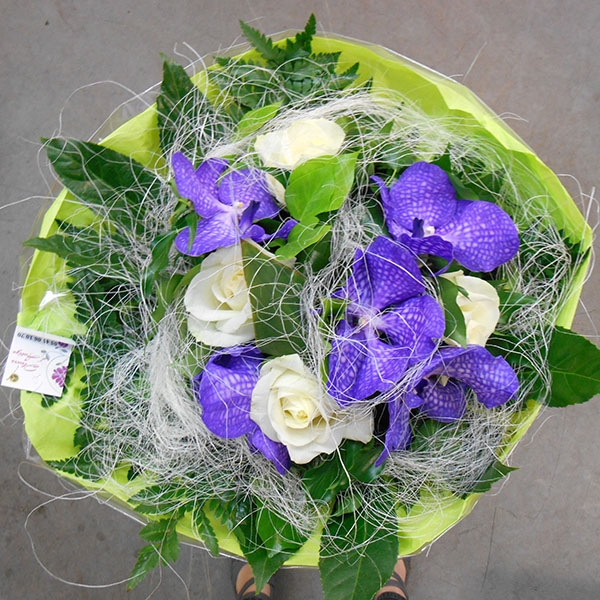 Bouquet rose vanda