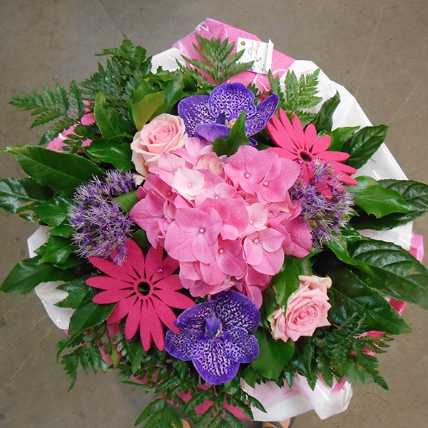 Bouquet rose violet